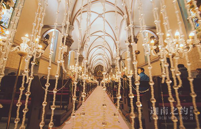 教堂婚礼座位应如何安排?太原教堂婚礼