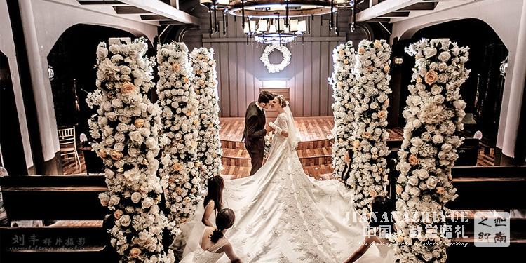 教堂婚礼视频,教堂婚礼微电影_粉色系